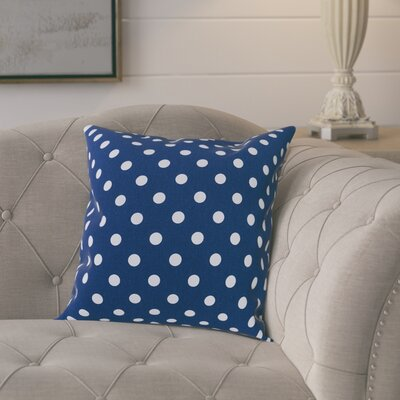 Rebeterano Cotton Pillow Cover Color: Navy Blue