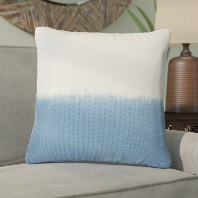 Jermaine Tribal Pattern Cotton Throw Pillow Color: Blue