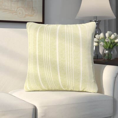 Aqueduct Throw Pillow Size: 16 H x 16 W x 6 D, Color: Apple - Green