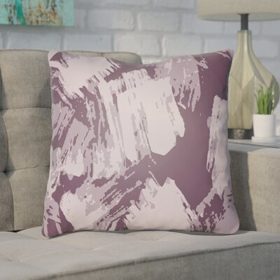 Konnor Throw Pillow Size: 22 H x 22 W x 5 D, Color: Purple