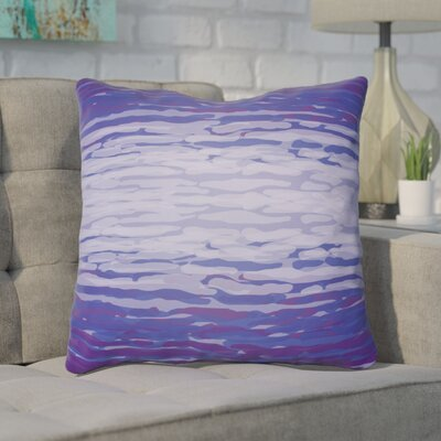 Konnor Iii Throw Pillow Size: 18 H x 18 W x 4 D, Color: Purple