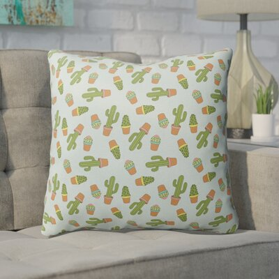 Geter Indoor/Outdoor Throw Pillow Size: 18 H x 18 W x 4 D