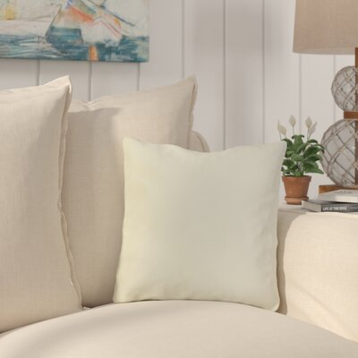 Mayson Outdoor Throw Pillow Color: White
