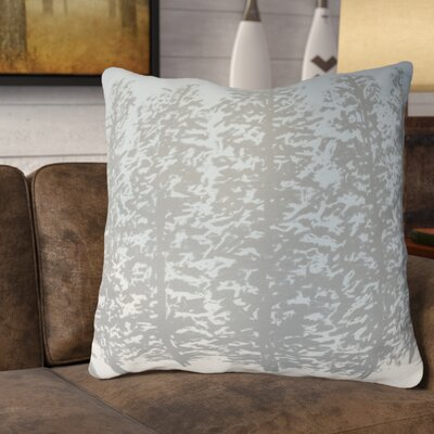 Meigs Hidden Forrest Euro Pillow Color: Gray