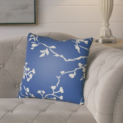 Teena Throw Pillow Size: 22 H �x 22 W x 5 D, Color: Dark Blue