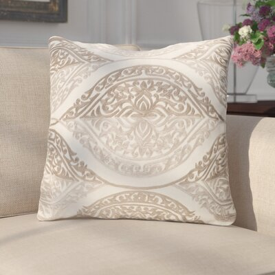 Parish Throw Pillow Color: Brown