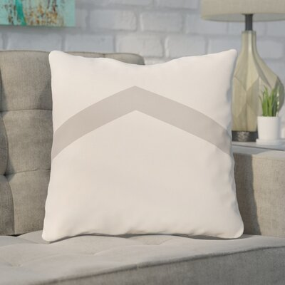 Down Throw Pillow Size: 26 H x 26 W, Color: Rain