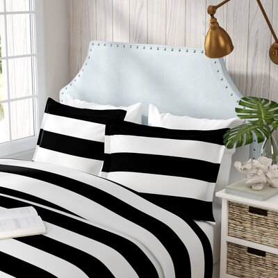Ariel Pillowcase Color: Black