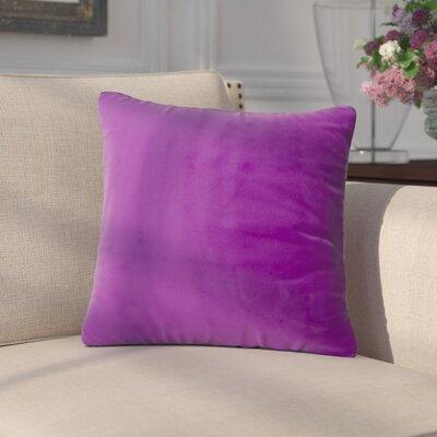 Arterbury Square Pillow Size: 20, Color: Purple Pansy
