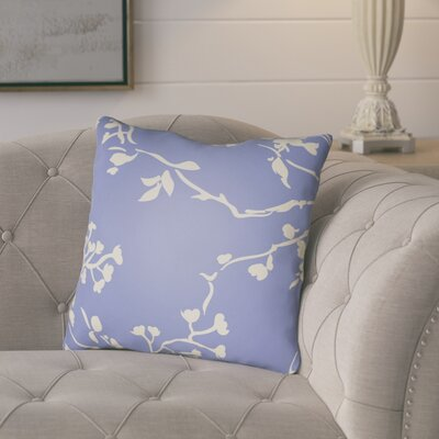Teena Throw Pillow Size: 22 H �x 22 W x 5 D, Color: Periwinkle