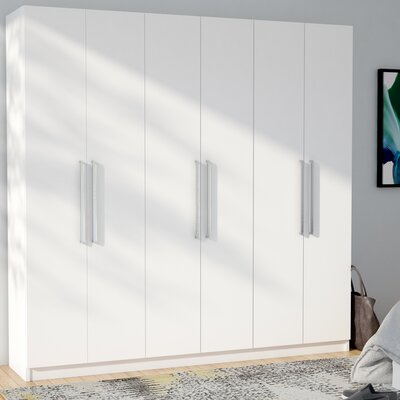 Lucca Armoire Color: White
