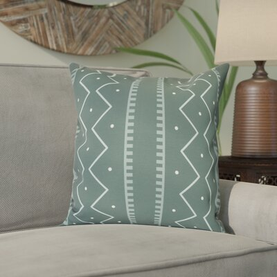Arlo Polyester Throw Pillow Size: 16 H x 16 W, Color: Green