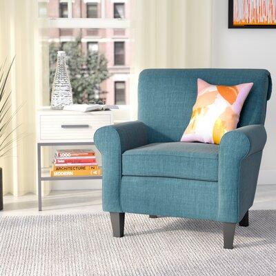 Chauncey Armchair Upholstery: Dark Teal