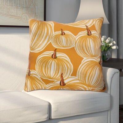 Miller Pumpkins-A-Plenty Geometric Euro Pillow Color: Gold