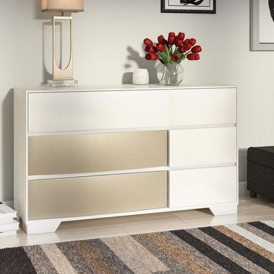 Dawna Dresser Color: White