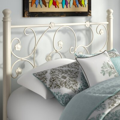 Floret Metal Open-Frame Headboard