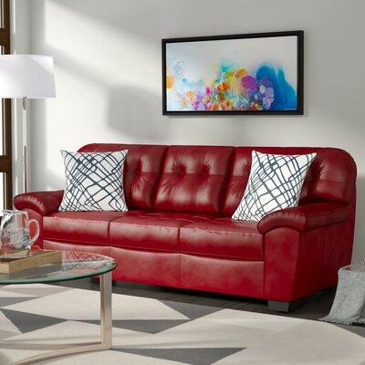 Simmons Upholstery David Sofa Upholstery: Cardinal