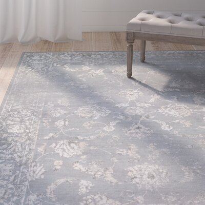 Nicolas Gray/Cream Area Rug Rug Size: Runner 27 x 71