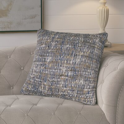 Chaudiere Cotton Pillow Color: Blue