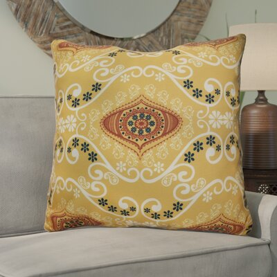 Soluri Illuminate Geometric Euro Pillow Color: Gold
