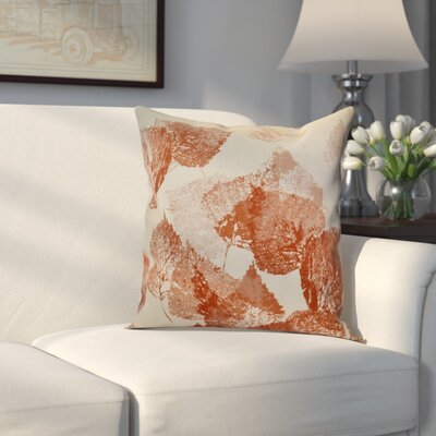 Miller Memories Outdoor Throw Pillow Size: 18 H x 18 W x 2 D, Color: Rust