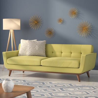 Johnston Upholstered Sofa Upholstery: Wheatgrass
