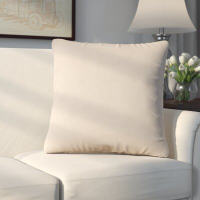 Abshire Throw Pillow Size: 20 H x 20 W x 8 D, Color: Bella Sand