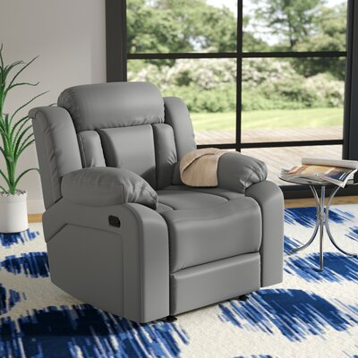 Pavonis Recliner Color: Gray