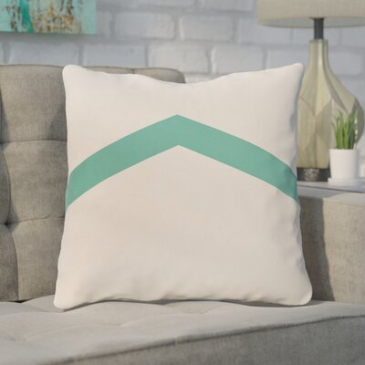 Down Throw Pillow Size: 26 H x 26 W, Color: Jade