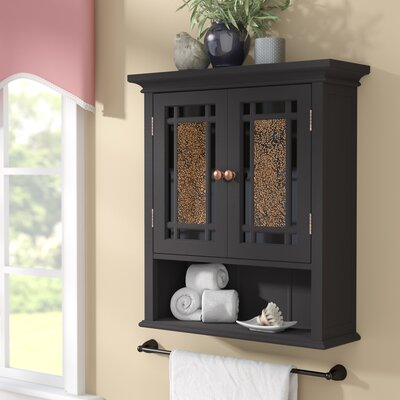 Caleb 22 x 24 Surface Mount Medicine Cabinet Finish: Dark Espresso