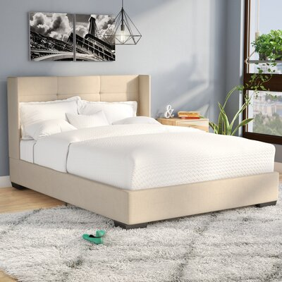Aminta Upholstered Platform Bed Size: Queen