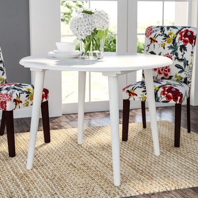 Mcdaniels Dining Table Finish: White