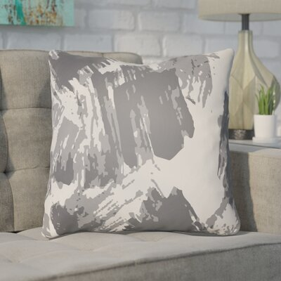 Konnor Throw Pillow Size: 22 H x 22 W x 5 D, Color: Grey