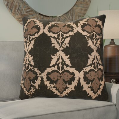Soluri Geometric Euro Pillow Color: Brown