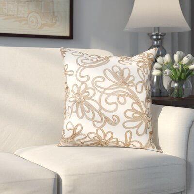 Orangeville Pillow Cover Color: Gold