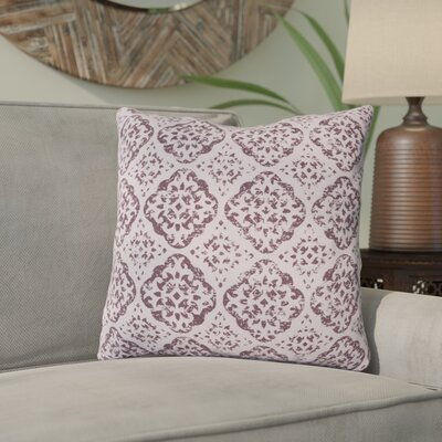 Kody Throw Pillow Size: 18 H x 18 W x 4 D, Color: Mauve / Dark Purple