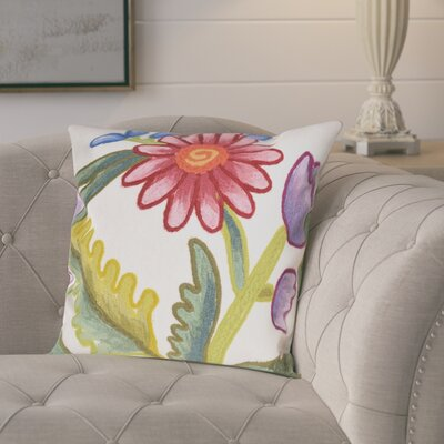 Vanier Gypsy Flower Throw Pillow