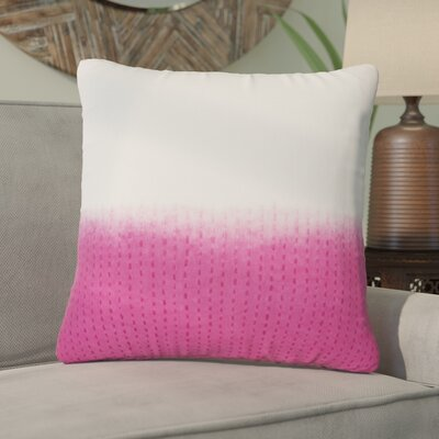 Jermaine Tribal Pattern Cotton Throw Pillow Color: Pink, Size: 14 x 20