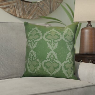 Soluri Geometric Throw Pillow Size: 16 H x 16 W x 2 D, Color: Green