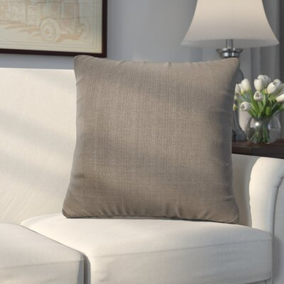 Frye Throw Pillow Size: 16 H x 16 W, Color: Charcoal