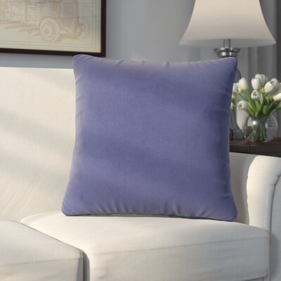 Abshire Throw Pillow Size: 20 H x 20 W x 8 D, Color: Bella Royal