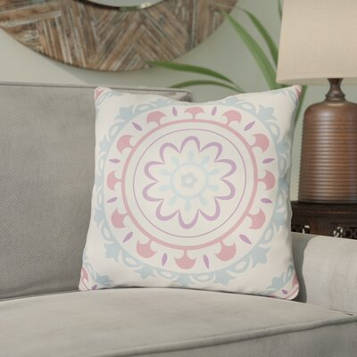 Alperin Indoor/Outdoor Throw Pillow Size: 18 H x 18 W x 3.5 D, Color: Light Blue