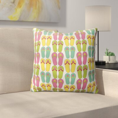 Zadiee Indoor/Outdoor Throw Pillow Size: 26 H x 26 W x 4 D