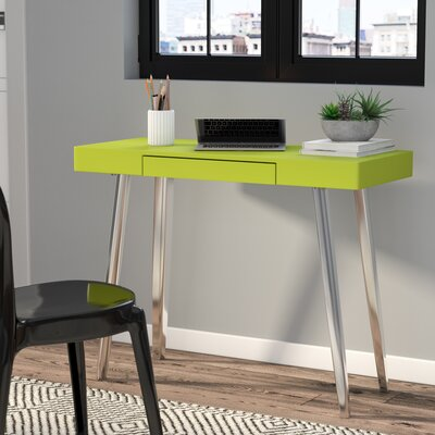 Buettner Console Table Top Finish: Green
