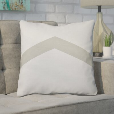 Down Throw Pillow Size: 18 H x 18 W, Color: Oatmeal