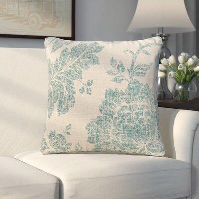 Arbor Glen Everbloom Indigo Throw Pillow Size: 20 H x 20 W x 6 D