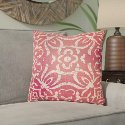 Libchava Indoor Throw Pillow Size: 18 H x 18 W x 4 D, Color: Red