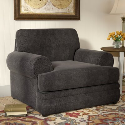 Simmons Upholstery Dorothy Armchair Color: Bellamy Slate