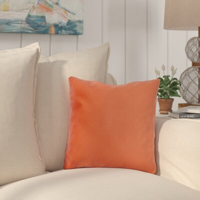 Mayson Outdoor Throw Pillow Color: Brick