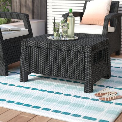 Berard All Weather Outdoor Coffee Table Finish: Charcoal